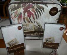 Tommy Bahama Bonny Cove Quilt FULL/QUEEN + 2 EURO Shams NEW!