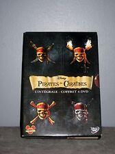 Intégrale Pirates des Caraïbes/Coffre Maudit/Black Pearl/bout Monde/Jouvence-DVD