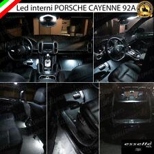 KIT LED INTERNI ABITACOLO PORSCHE CAYENNE 92A CONVERSIONE COMPLETA CANBUS 6000K
