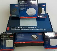 Abus Secvest FU8002  2WAY Komplettpaket Funk-Alarmanlage