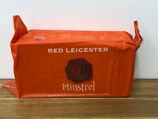 Minstrel Red Leicester Cheese 1.2kg Vegetarian Short Best Before Date 28/07/20