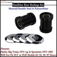 Motorcycle Front Handlebar Riser Bushing Kits For Harley Big Twins & Sportsters