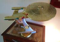 Star Trek Starship Enterprise Next Gen Playmates 24K Gold Only 21 Made 1993