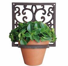 esschert Blumen Topfhalter-Wandhänger-reichlich verziert BPH14