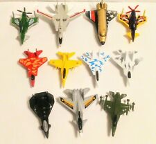 Lot of 11 Die-Cast Military Fighter Planes and Other Aircraft