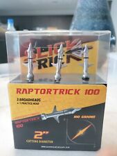 Slick trick raptor trick 100grains Broadheads