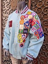 Lt.Blue NBA Hardwood Classic LIMITED EDITION Jacket by Jeff Hamilton