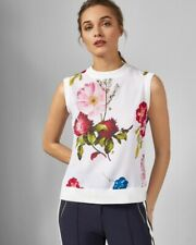 Ted Baker Silenaa Floral Tank Top Sz. 1 / US Small $175