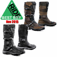 Forma Adventure Leather Motorcycle Boots Black or Brown