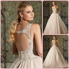 Ball gown wedding dress Mori Lee