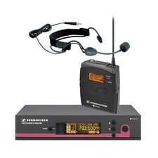 Sennheiser EW152 G3 Wireless Bodypack Microphone System With ME3 Headset Mic NEW