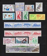 St. Pierre & Miquelon - 22 mint commemoratives - cat. $ 33.05