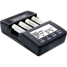Cargador de pilas baterias recargables AA/AAA con Analizador Powerex MH-C9000