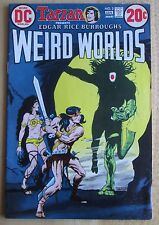 DC COMICS, 1973 TARZAN WEIRD WORLDS #3 , Good Condition