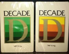 Vintage DECADE Playing Cards, SEALED. Stardust Casino, Plastic Coated, Brand New