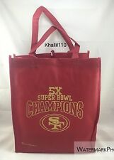 NFL San Francisco 49ers 5X Super Bowl Champions Reusable Shopping Bag