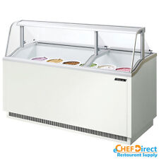 Turbo Air TIDC-70W-N White Ice Cream Dipping Cabinets