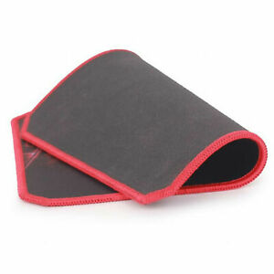 Pro Gaming 3mm Heavy Duty Mouse Pad Mat 400 x 450mm Red & Black Large