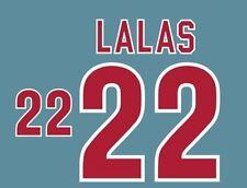 LALAS #22 USA WORLD CUP 1994 NAMESET AWAY FOOTBALL per Camicia