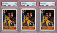 Kobe Bryant Lakers Rookie LOT 1996-97 Topps 138 PSA 10 9 GEM MINT Sandwich READ