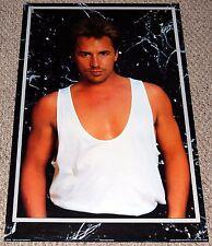 DON JOHNSON Beefcake Poster 1986 Bi-Rite 15-443 Miami Vice Hot Guy