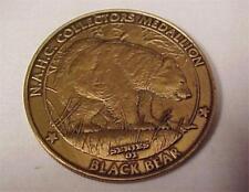 N.A.H.C. Collectors Medallion-Black Bear-Commemorative Token-Vintage #12909C