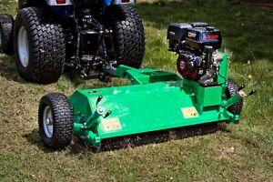 G-AFL120 - ATV Flail Mower 1.2m Wide - 15hp Loncin Electric Start