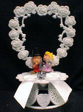 Sally & Linus Wedding Cake Topper snoopy's Peanuts Gang Funny Charlie brown love
