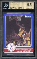 1984 Star Magic Johnson #6 Award Banquet Schick Player of Year BGS 9.5 GEM MINT