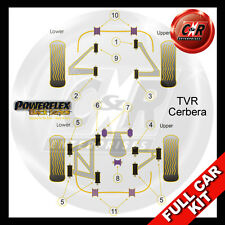 TVR Cerbera Powerflex Black Complete Bush Kit
