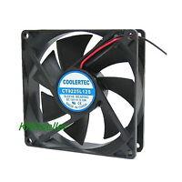PC Computer CPU Case Cooling Fan Cooler Heatsink 2 Pin 12 Volt 92x92x25mm Silent