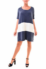 One Teaspoon Women's NBW Authentic Moonlight Knit Dress Navy S RRP $148 BCF78