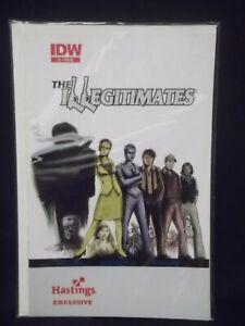 The ILLEGITIMATES #1  HASTINGS EXCLUSIVE VARIANT IDW VGC Please See Photos