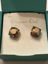 Origami Owl Chocolate Earrings