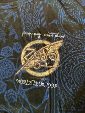 New listing Jimmy Page Robert Plant Zeso World Tour 1995 T-Shirt