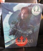 Rogue One A Star Wars Story Blu-Ray 3D Steelbook [Blufans] Lenticular Slip New