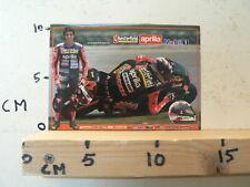 STICKER,DECAL JEAN PHILIPPE RUGGIA CHESTERFIELD APRILIA MOBIL 1  MOTO GP