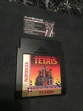 Genuine Tengen: The Soviet Mind Game Tetris (Nintendo NES) Cartridge Only *READ*