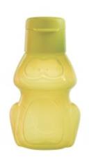 Tupperware Frog Water Bottle 12 oz / 350ml Flip Top Spout Yellow Rare New