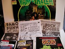 INDY COMICS POSTER BUNDLE (6) USED AND NEW, some RARE ( FREE SHIP/GIFT )