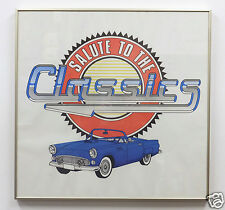 Al's Auto Supply Promotional Poster Salute To The Classics Framed