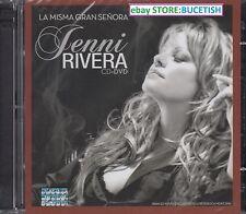 Jenni Rivera La Misma Gran Senora CD+DVD New Nuevo sealed