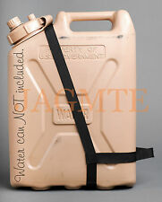 EASY POUR STRAP-2 Handle-MWC-Black- for your Scepter & LCI Military WATER Can