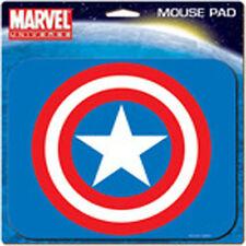 Captain America Logo MOUSE PAD Computer Accessory Marvel Universe