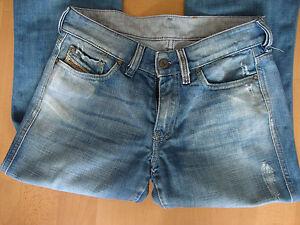 Ladies distressed Industry Diesel jeans W 28 L 29