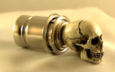 American Made Skull Car Cigarette Lighter Shift Hot Rat Street Rod Knob Punk #09