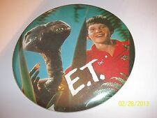 "1992 E.T. ET Stuffed Doll Toy Universal Studios 17"" w/Jacket w/ picture button"