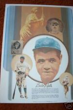 BABE RUTH   1980's  COCA COLA    Rolled  POSTER