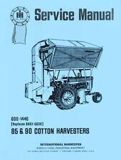 International 85 90 Cotton Harvester Service Manual