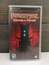Dungeon Siege: Throne of Agony (Sony PSP, 2006) CIB